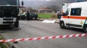 Sbanda e tampona tir per la pioggia muore banchiere 29enne a Sassano