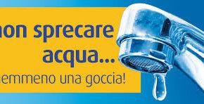 I 10 consigli per non sprecare acqua