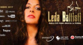 La cantautrice Leda Battisti