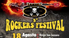 Il 18 agosto a Persano il Rockers Festival