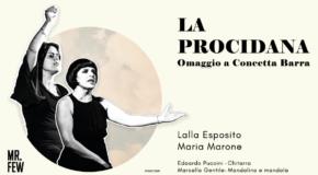 """A Sala Consilina lo spettacolo La Procidana """"Omaggio a Concetta Barra"""""""