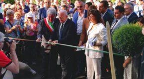Inaugurazione del centro Life for Life a Sicignano degli Alburni