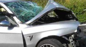 Sulla Cilentana: scontro frontale, morti due uomini