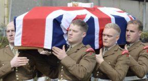 Funerali di Stato per i soldati ritrovati da Salerno 1943